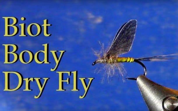 Biot Body CDC Dry Fly by Tim Cammisa