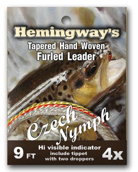 Hemingway's Furled Leader Czech Nymph