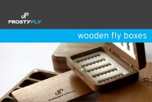 FrostyFly Wooden Fly Boxes Catalog 2014