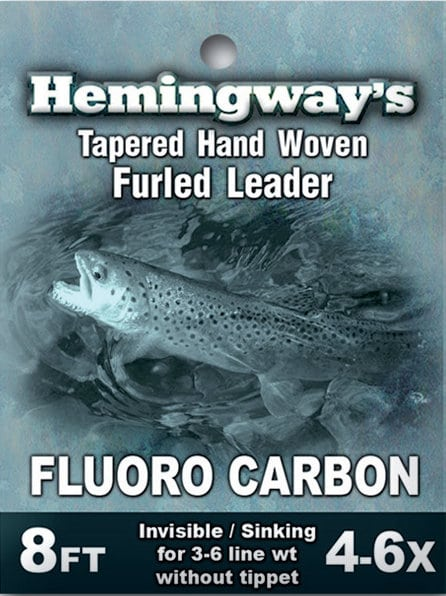Hemingway's Furled Leader Fluorocarbon 4-6x