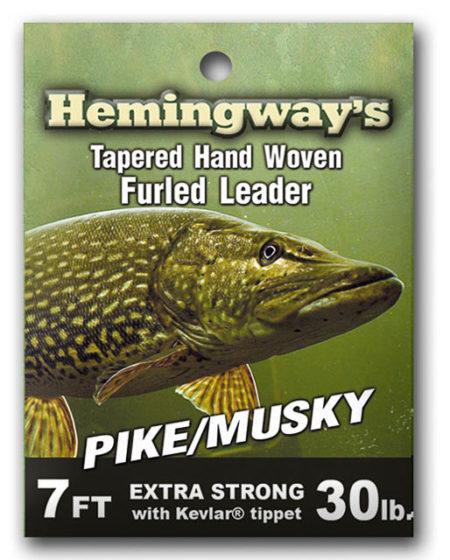 Furled Leader Pike / Musky