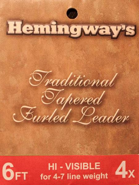 Hemingway's Furled Leader Hi Visible - Fluo Orange