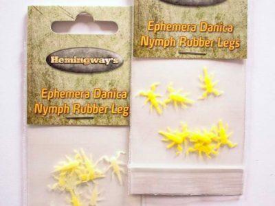 Hemingway's Realistic Soft Ephemera Danica Nymph Legs