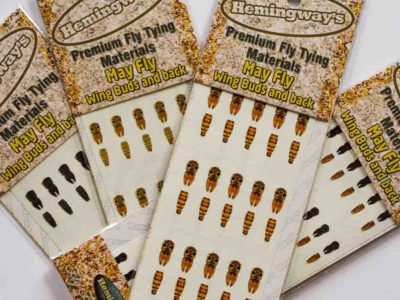Hemingway's Realistic MayFly Buds and Back
