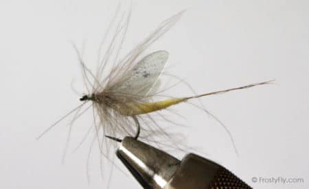 Hemingway's Realistic Mayfly - Light Yellow