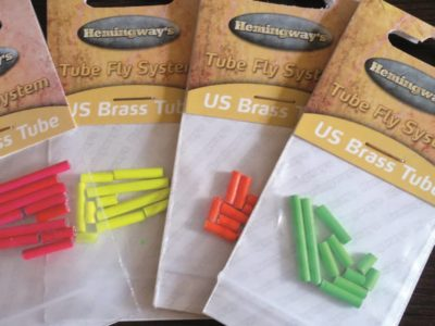 Hemingway's Tube Fly System - US Brass Tube Weights