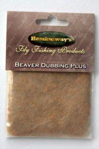 Hemingway's Beaver Dubbing - Tan