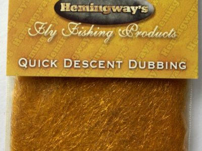 Hemingway's Quick Descent Dubbing - Old Gold