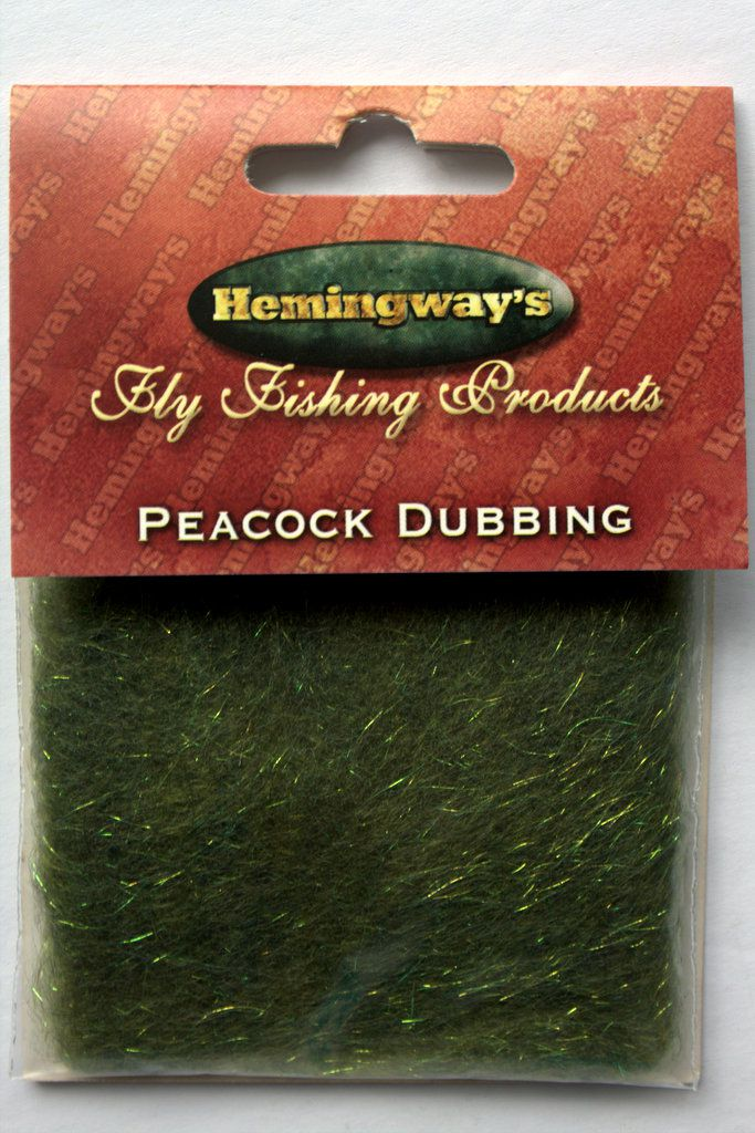 Hemingways Choice of colours Peacock Dubbing brushes for Fly Tying