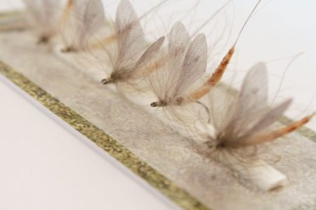 Hemmingways May Fly Wings Fly Fishing connective material L-Yellow