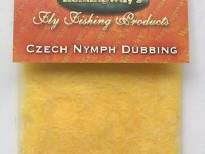 Hemingway's Czech Nymph Dubbing - Light Yellow