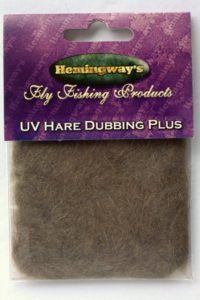 Dubbing - Hare Plus UV - Natural Dark