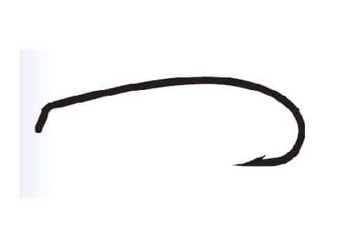 Maruto Curved Long Shank fly hooks c41