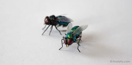 Realistic Bottle Flies - Realistic Blow Flies