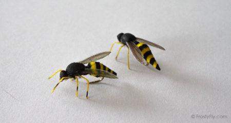 Realistic Wasp Flies