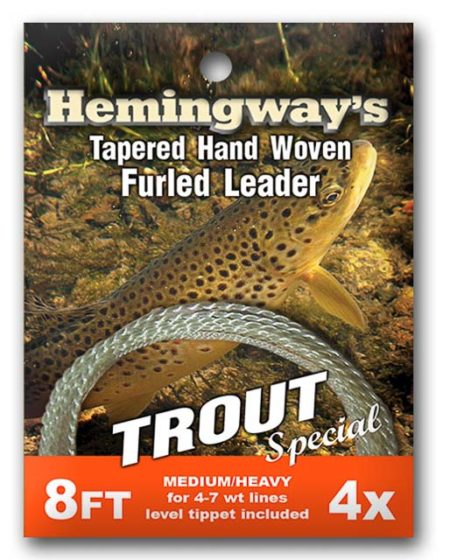 Hemingway's Furled Leader Trout Special