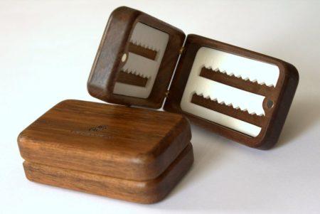 Yamaska River Solid Walnut Wooden Fly Box