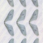 Realistic Mayfly Wings – Gray - Large