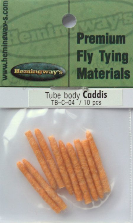 Tube Body - Caddis - Orange 2