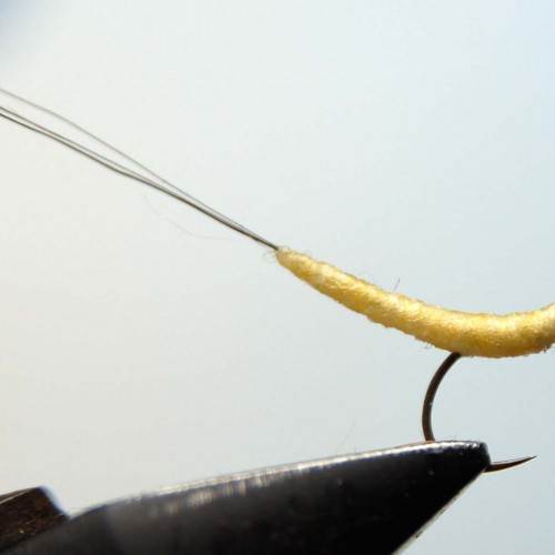 how to tie a mayfly dry fly
